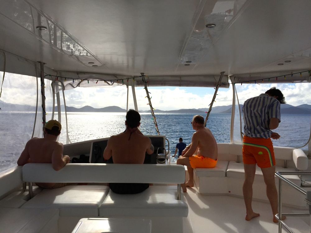 Happygobliss boys on a boat