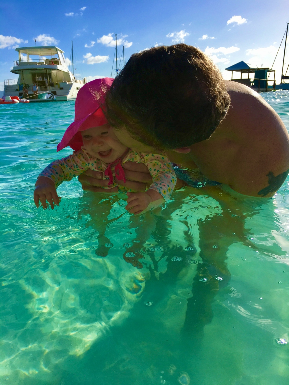 Happygobliss BVI Daddy & Baby