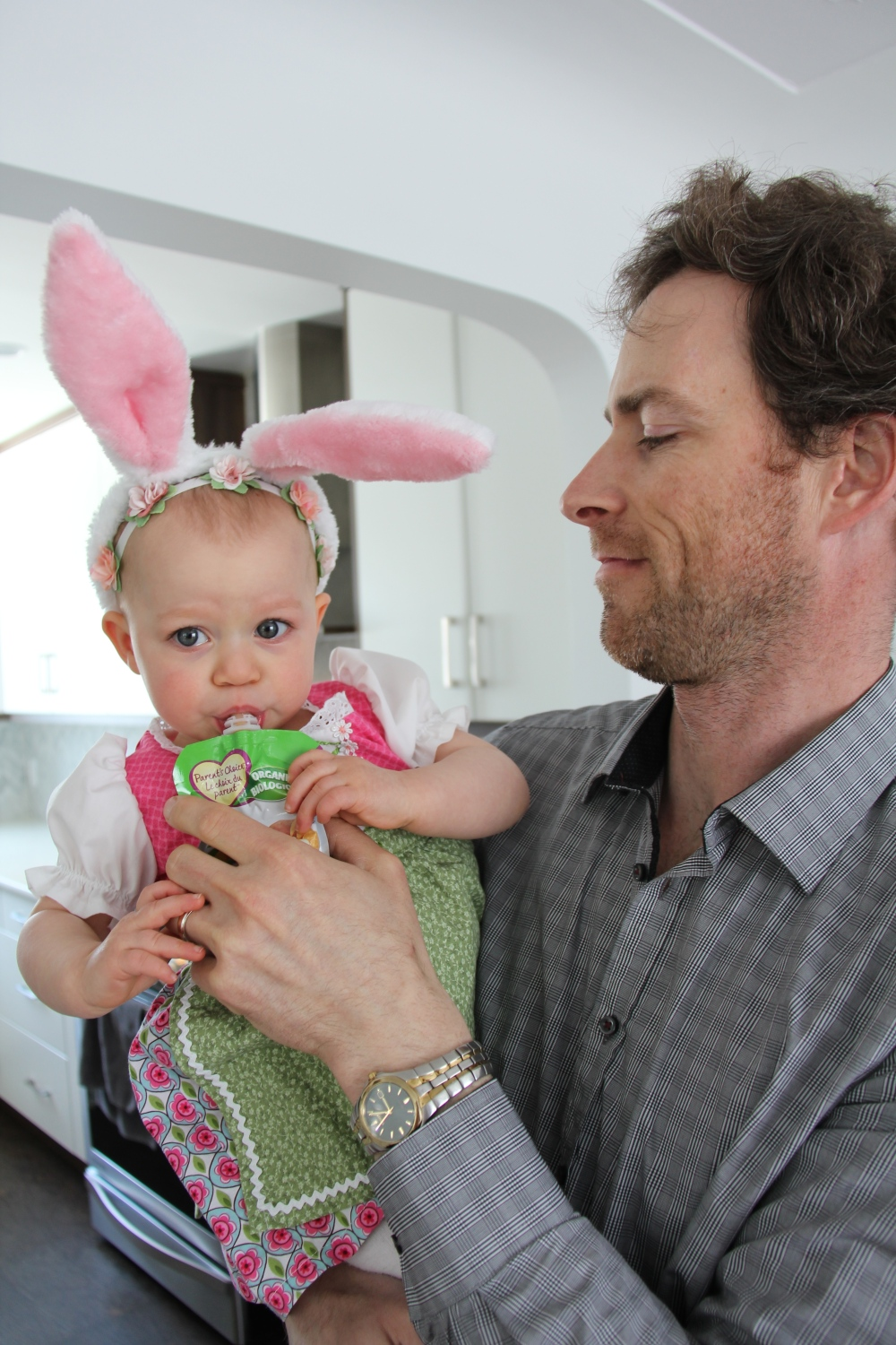 Happy Go Bliss, Veale, Andrea, Easter, Lifestyle, Blogger, Blog, Baby, girl, mom, bunny