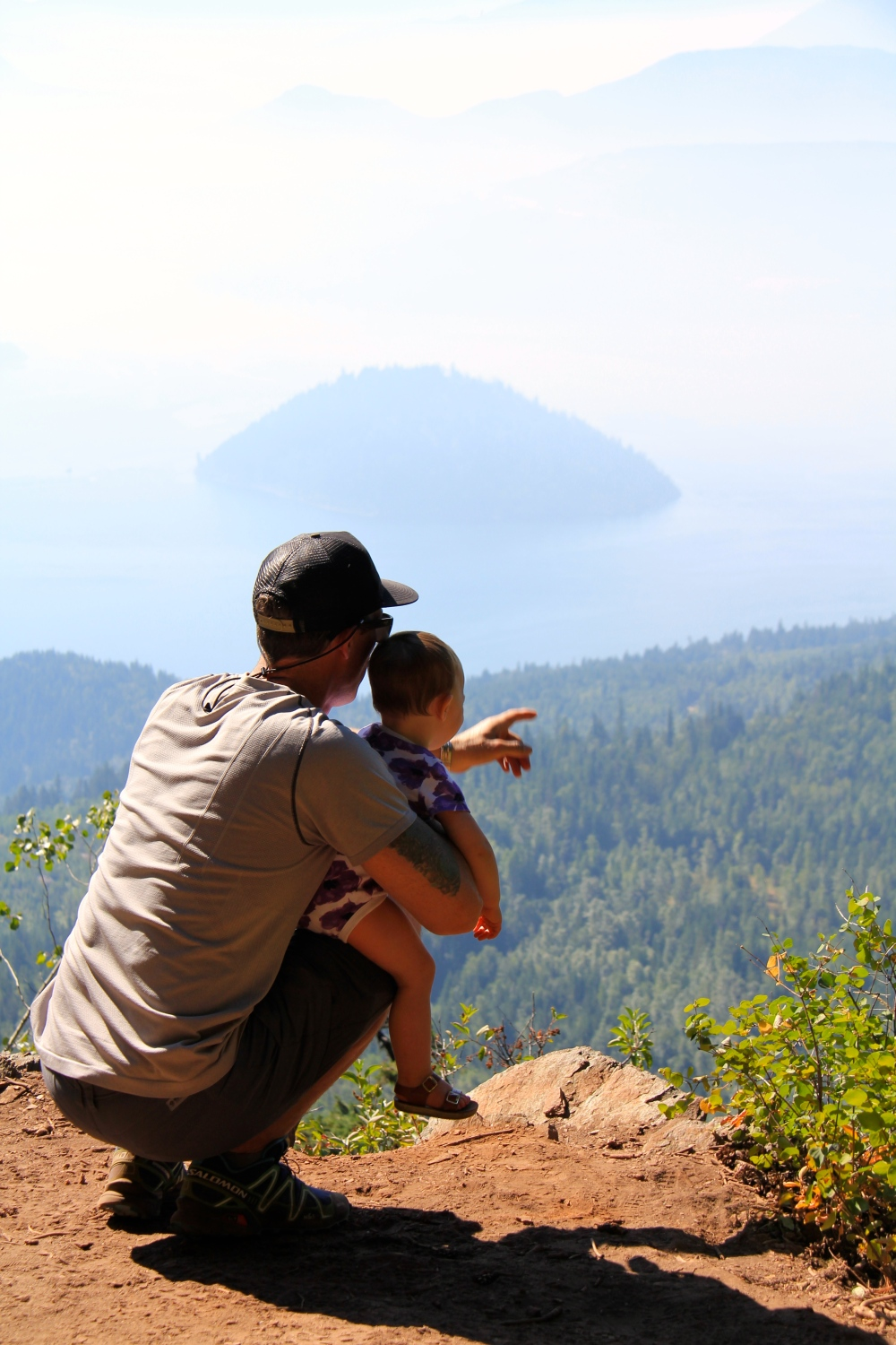 Shuswap, Scotch Creek, Hike, Family