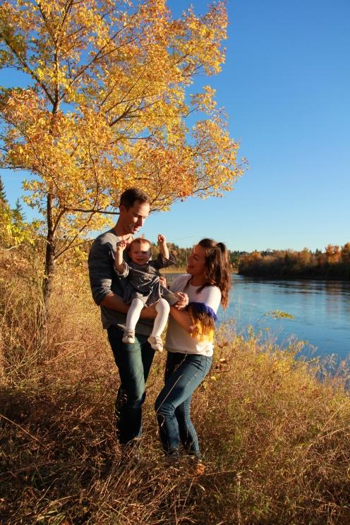 Thanksgiving, Fall, Baby, Family, Canada, YEG
