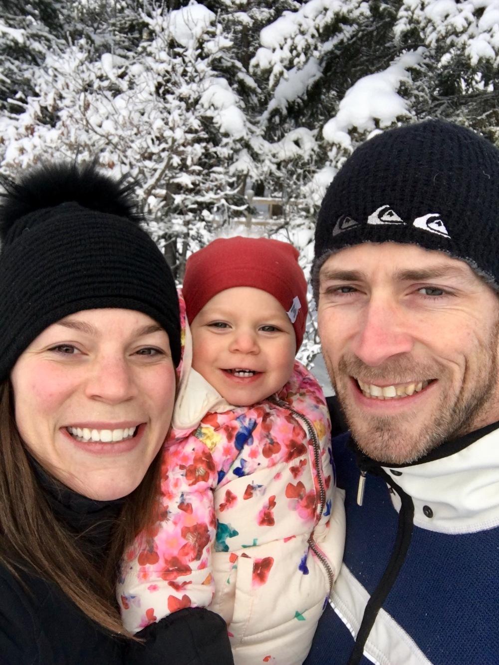 Lake Louise Family Smiles